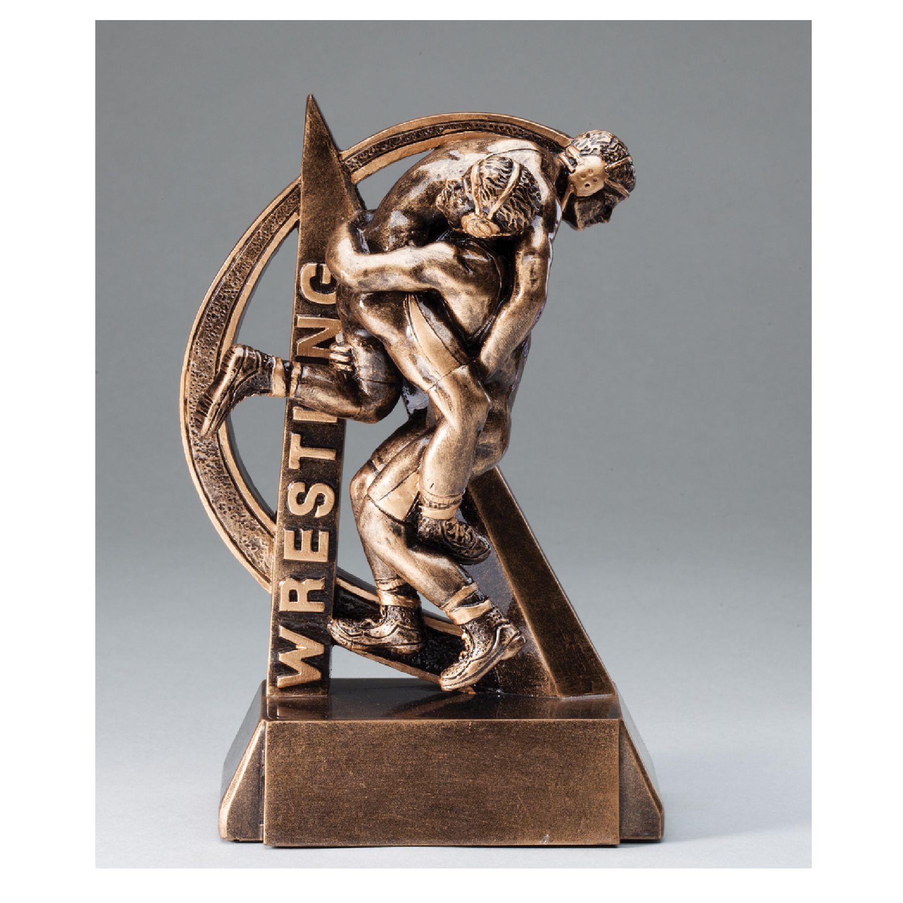 Ultra Action Wrestling Resin   Impressive Trophies & Awards