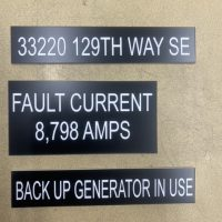 Electrical label 10